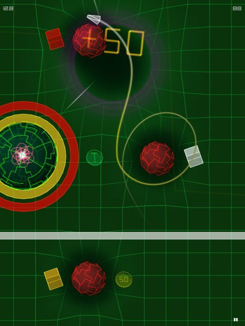 AGRAV: Inertial Orbit Launching Today for iOS Devices