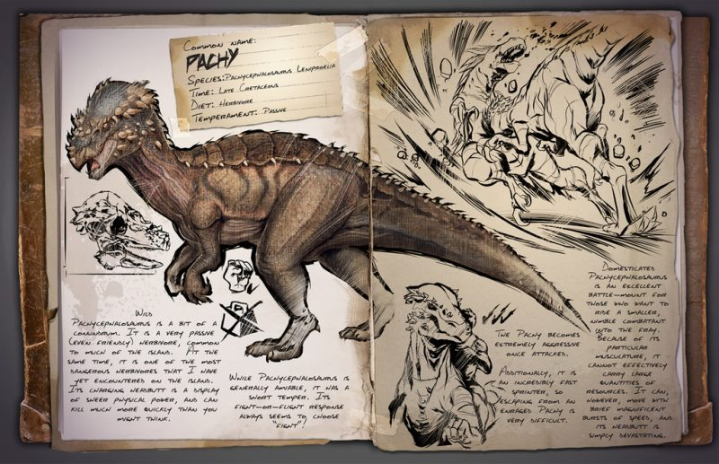 ARK: Survival Evolved New Pachy Blasts Through Enemy Lines