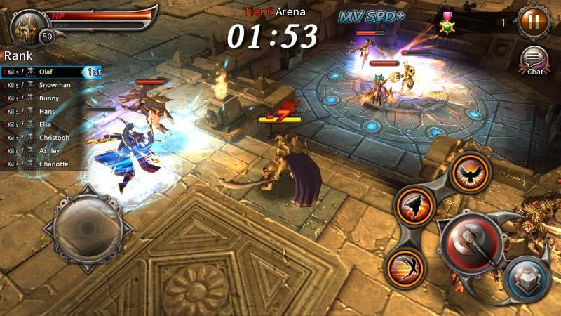 Blade: Sword of Elysion Available Now in the US for iOS