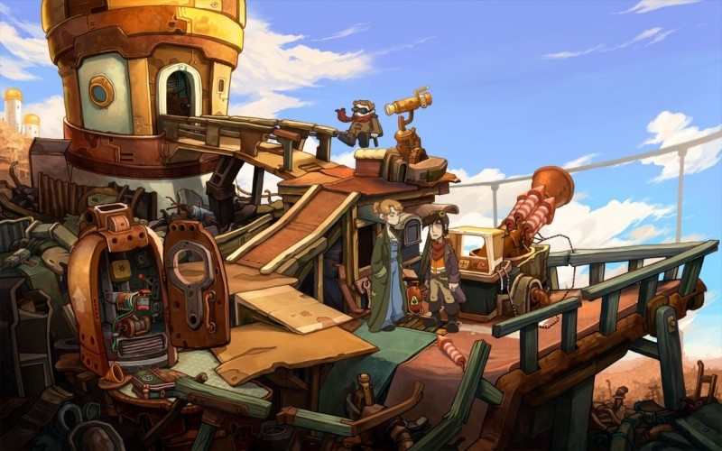 Deponia by Daedalic iPAD Review
