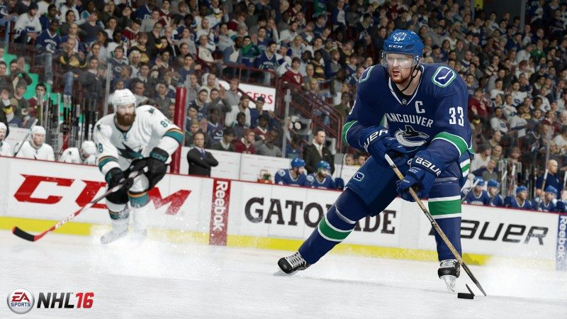 EA SPORTS NHL 16 Hits Stores Today