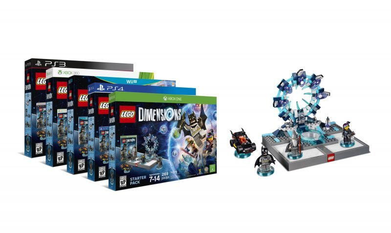 LEGO Dimensions Launch Announced by Warner Bros., TT Games and The LEGO Group