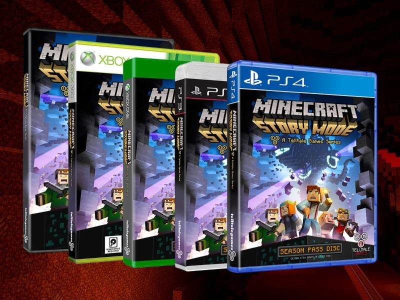 Minecraft: Story Mode - A Telltale Games Series Now Available for Download
