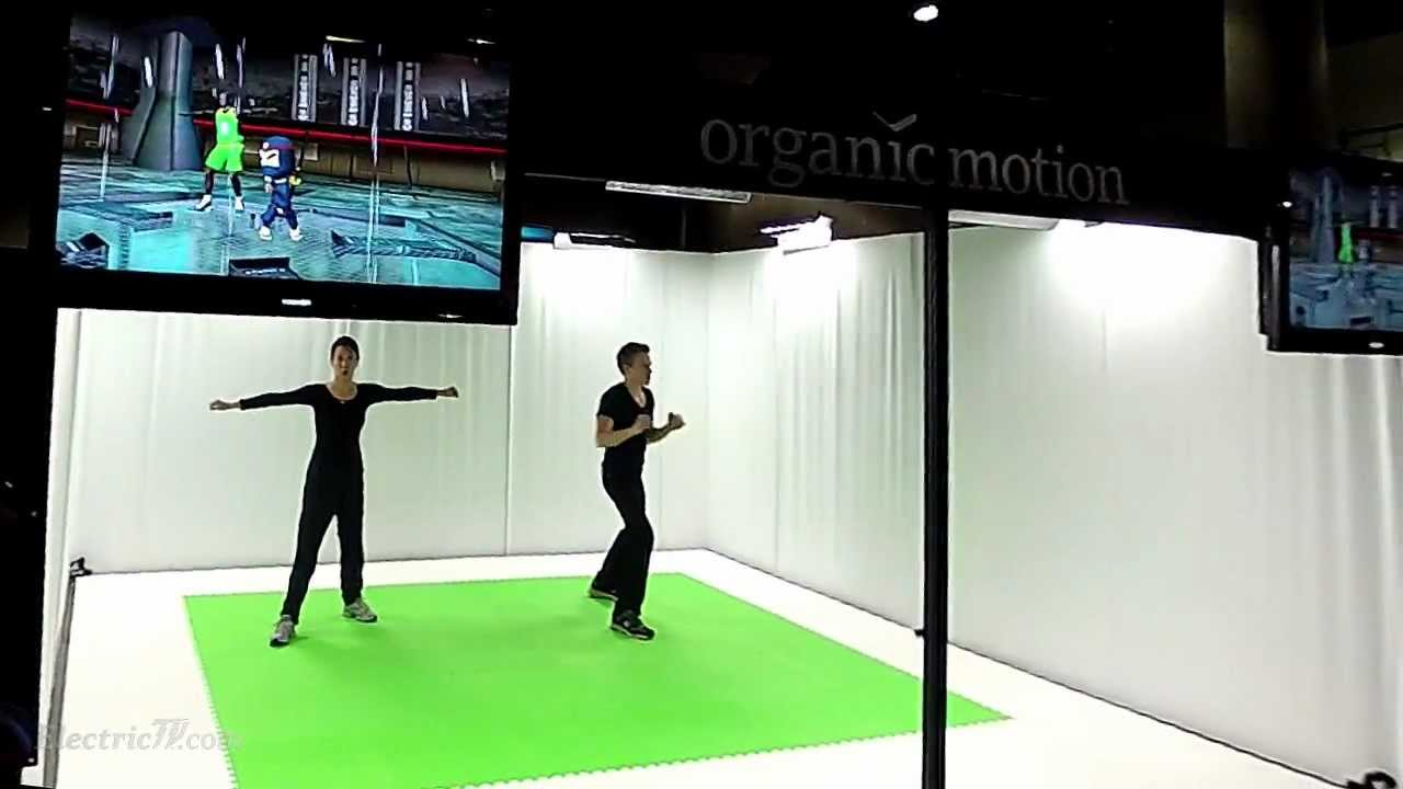 Organic Motion Gaming Cypher