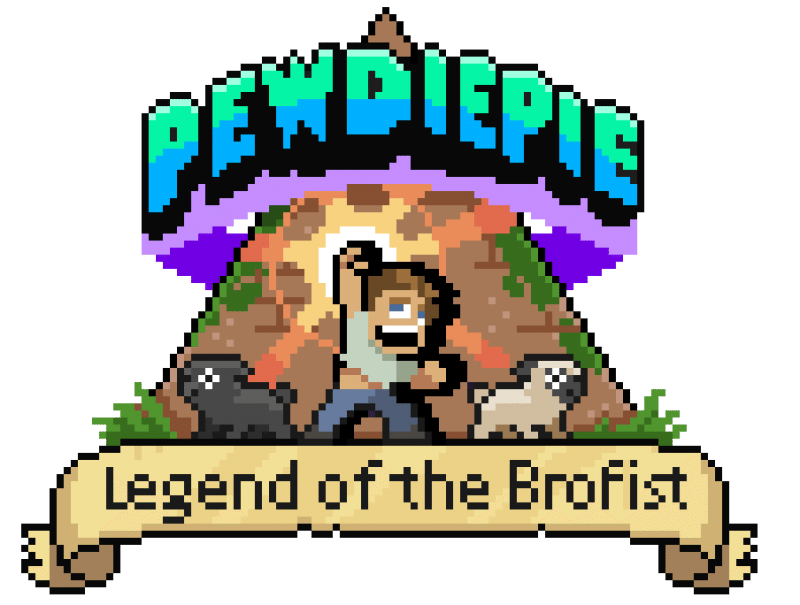 PewDiePie: Legend Of The Brofist Just Launched for Mobile