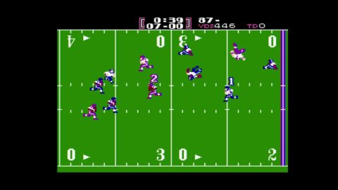 play tecmo super bowl on wii