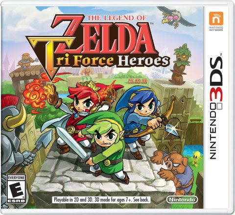 Form a Legendary Team of Heroes in The Legend of Zelda: Tri Force Heroes