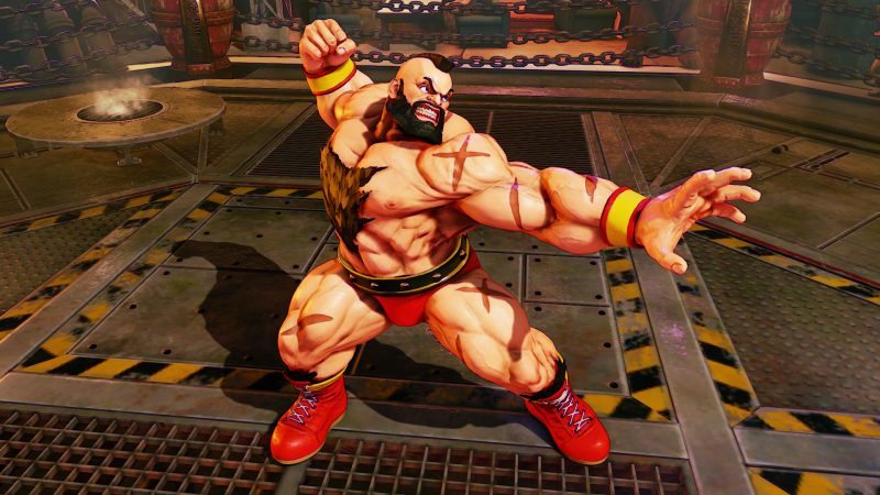 Zangief Piledrives His Way Into Street Fighter V