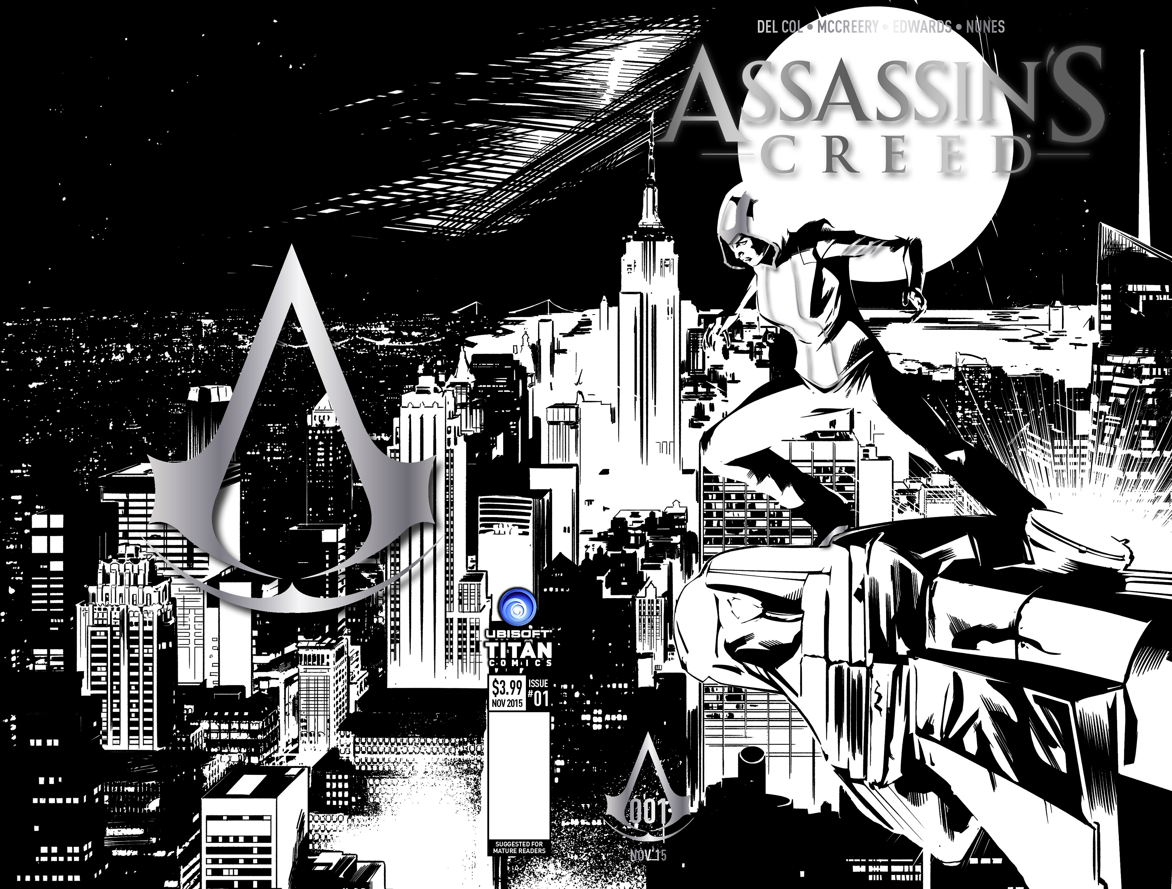 Assassin's Creed NYCC Cover Gaming Cypher
