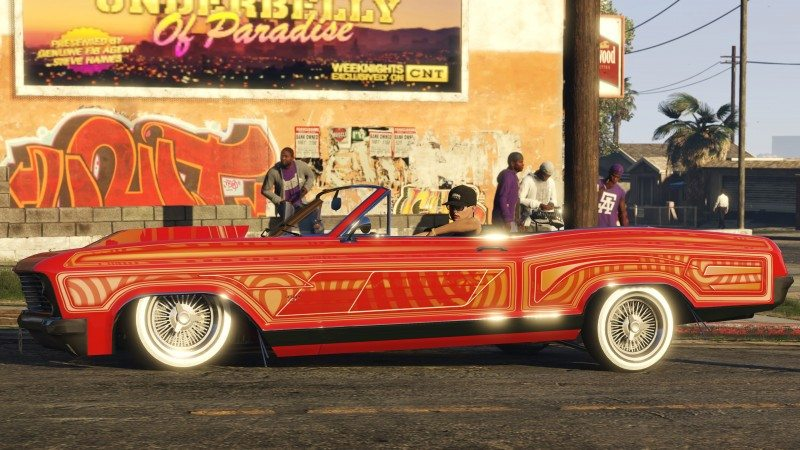 GTA Online: Lowriders Now Available