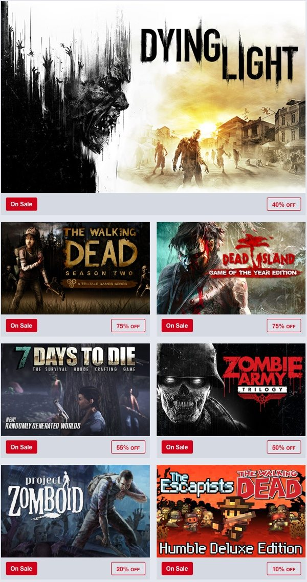 Humble Store Dawn of the Deals on Sale this Weekend at Humble Store