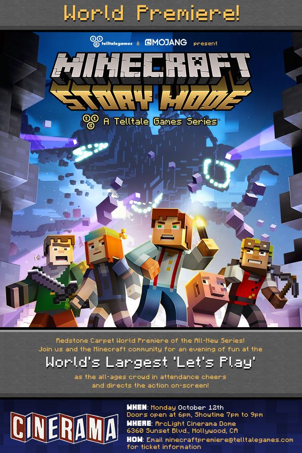 Minecraft: Story Mode - A Telltale Games Series Episode One: The Order of the Stone