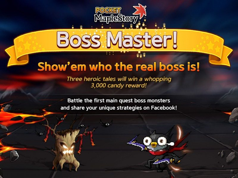 Pocket MapleStory Brings MMORPG Side-Scrolling Action to Mobile Devices Today