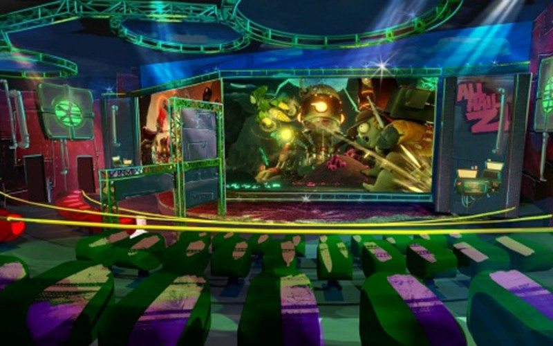 PopCap Games and Carowinds to Debut World's First Intra-Active 3-D Attraction