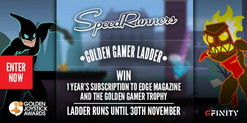 Join the SpeedRunners Gfinity Tournament Now