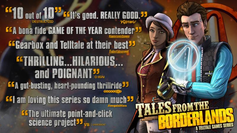 Tales from the Borderlands the vault of the traveler Gaming Cypher