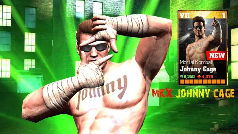 WWE Immortals Latest Update Adds Johnny Cage from Mortal Kombat X