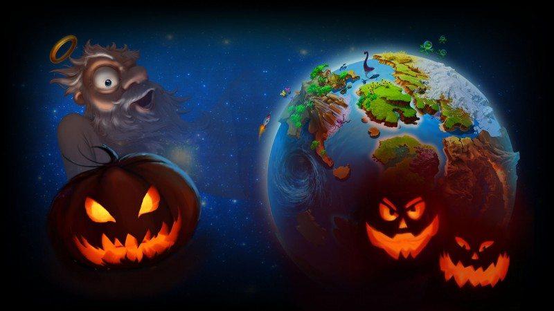 Doodle God New Halloween Update