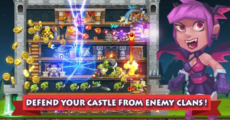 Monster Castle Now Available for Mobile