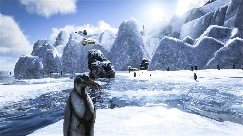 ARK: Survival Evolved Adds Kairuku Penguins and Angler Fish