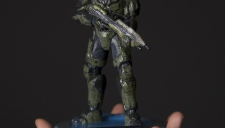 Customizable 3D Printed Halo Spartans Gaming Cypher