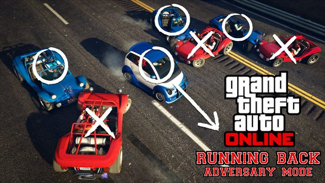 GTA Online New Running Back Adversary Mode Available Today