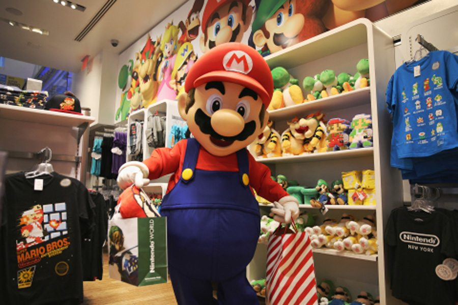 Mario World Store Black Friday 2015 Gaming Cypher
