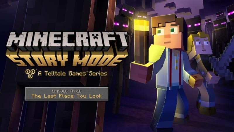 Minecraft: Story Mode - A Telltale Games Series Episode 3 Now Available