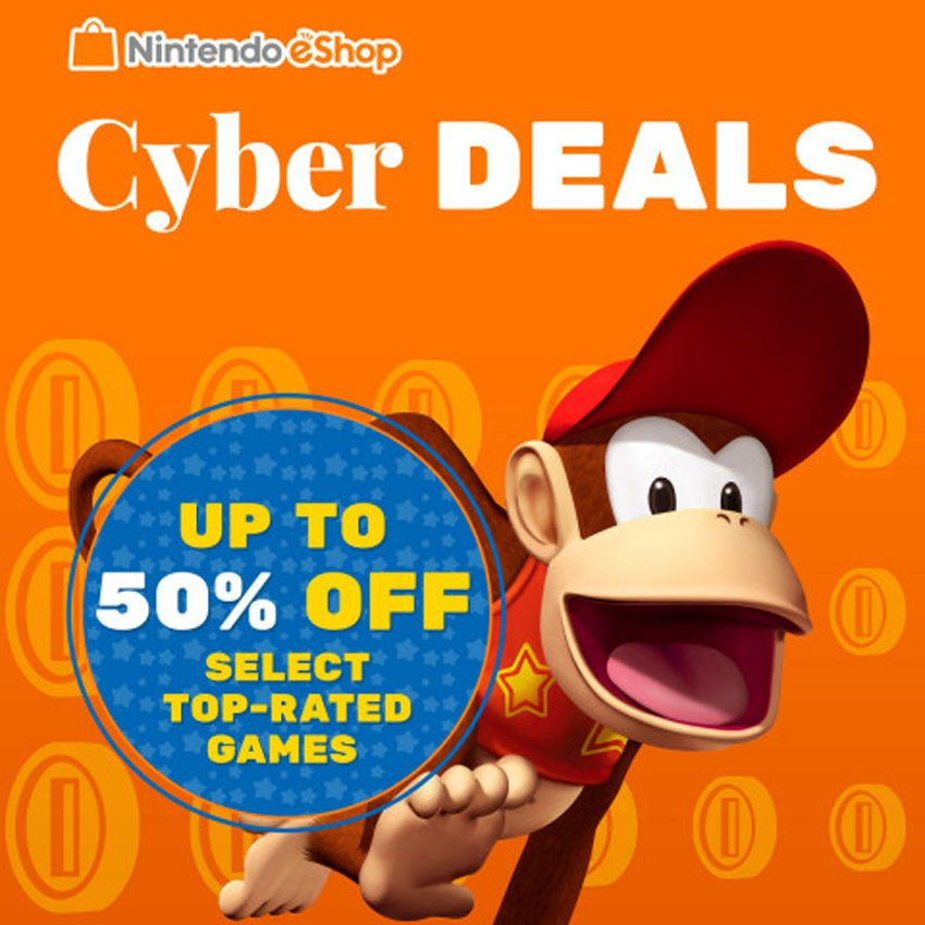 Nintendo eShop Cyber Deals Gaming Cypher LARGE