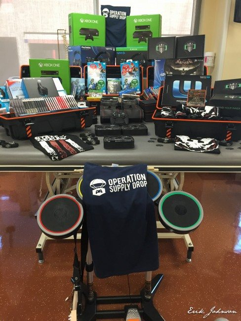 Operation Supply Drop Provides Video Games to Wounded Veterans at Brooke Army Medical Center