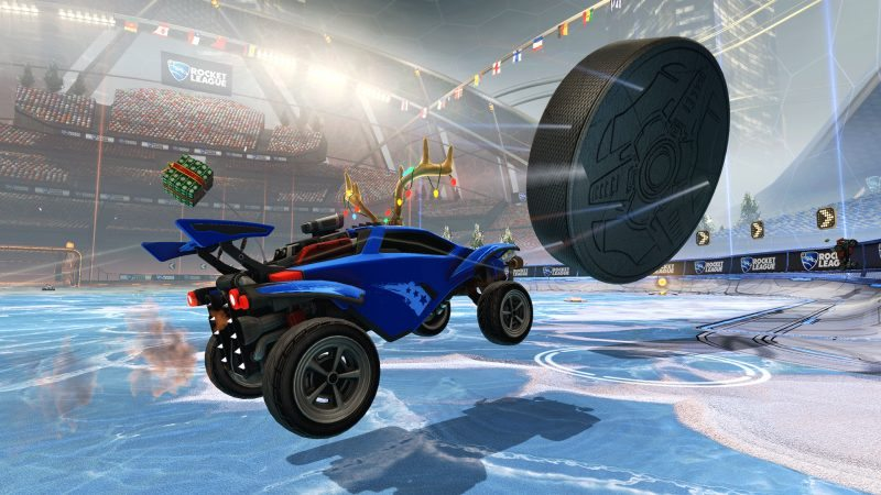 Psyonix Announces Rocket League Free Holiday Gifts