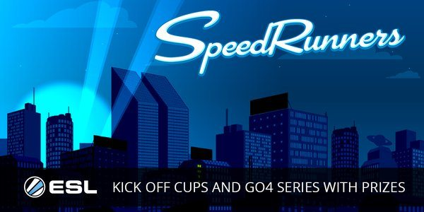 SpeedRunners ESL GO4 Series Gaming Cypher