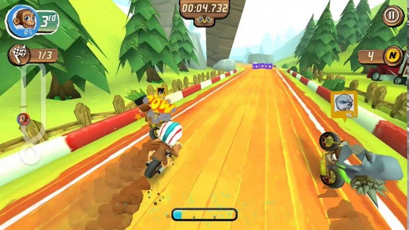 Super Nitro Chimp Available for iOS