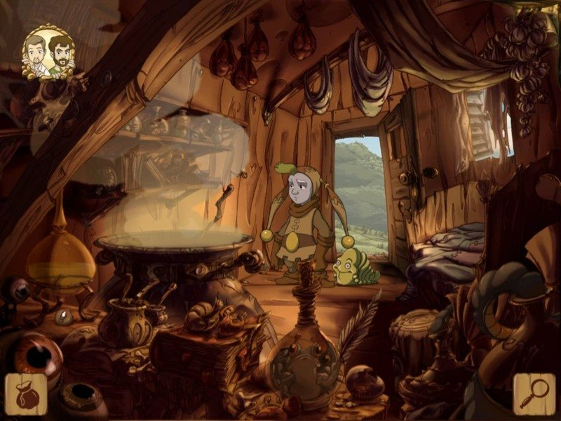 Daedalic's The Whispered World Comes to iPad