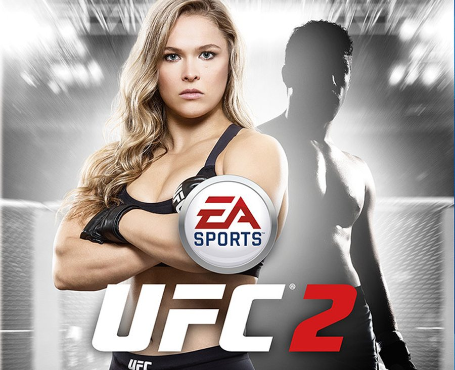 UFC 2 Ronda Rousey PS4 Gaming Cypher Large