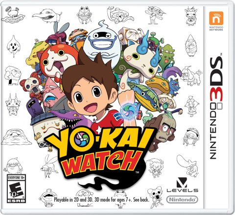 Be a Part of the YO-KAI WATCH Sensation When the Game Hits U.S. Shores