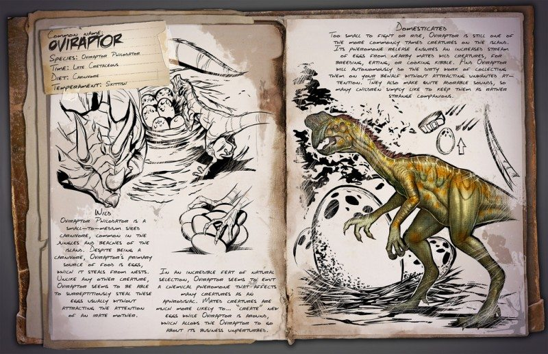 ARK: Survival Evolved Welcomes the Oviraptor