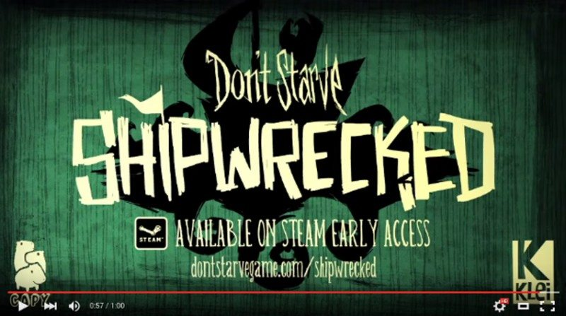 Don't Starve Shipwrecked Early-Access Available Now