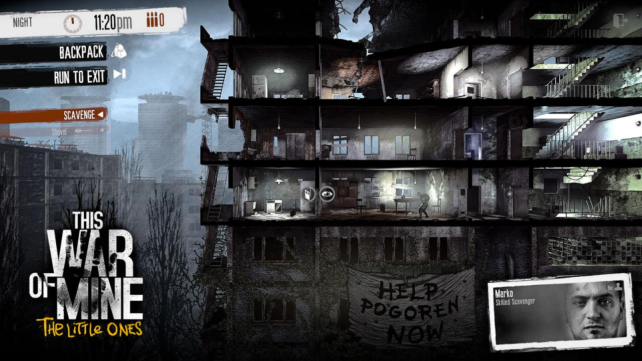 This War of Mine The Little  Gaming Cypher
