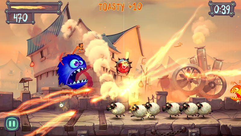 iPAD REVIEW for Fire Fu