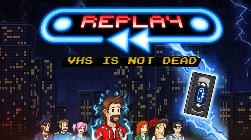 Replay - VHS is Not Dead Coming Soon to PS4, Xbox One & Wii U