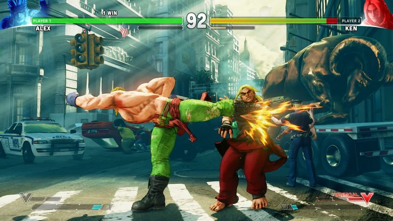 First Post Launch Character ALEX Joins Street Fighter V Roster Today!