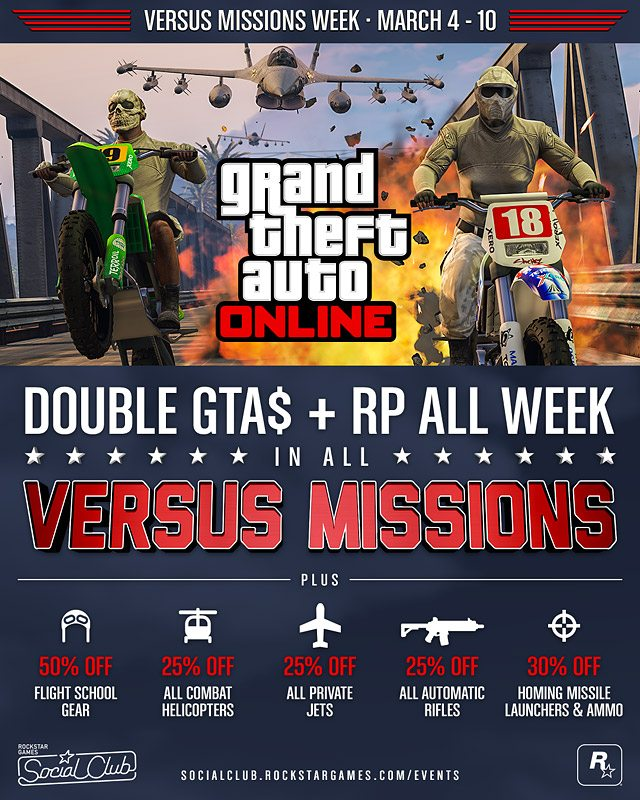 GTA Online March 4-10 Gaming Cypher