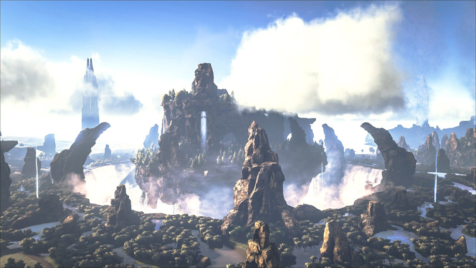 ARK: Survival Evolved Adds The Center Map to Steam & Xbox One
