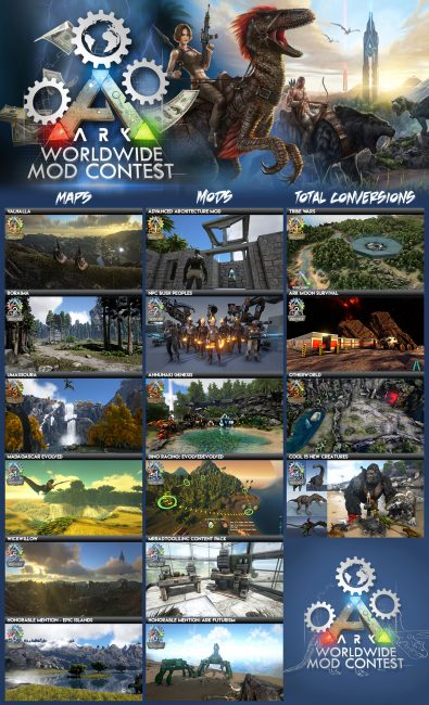 ARK: Survival Evolved Mod Contest Winners Announced
