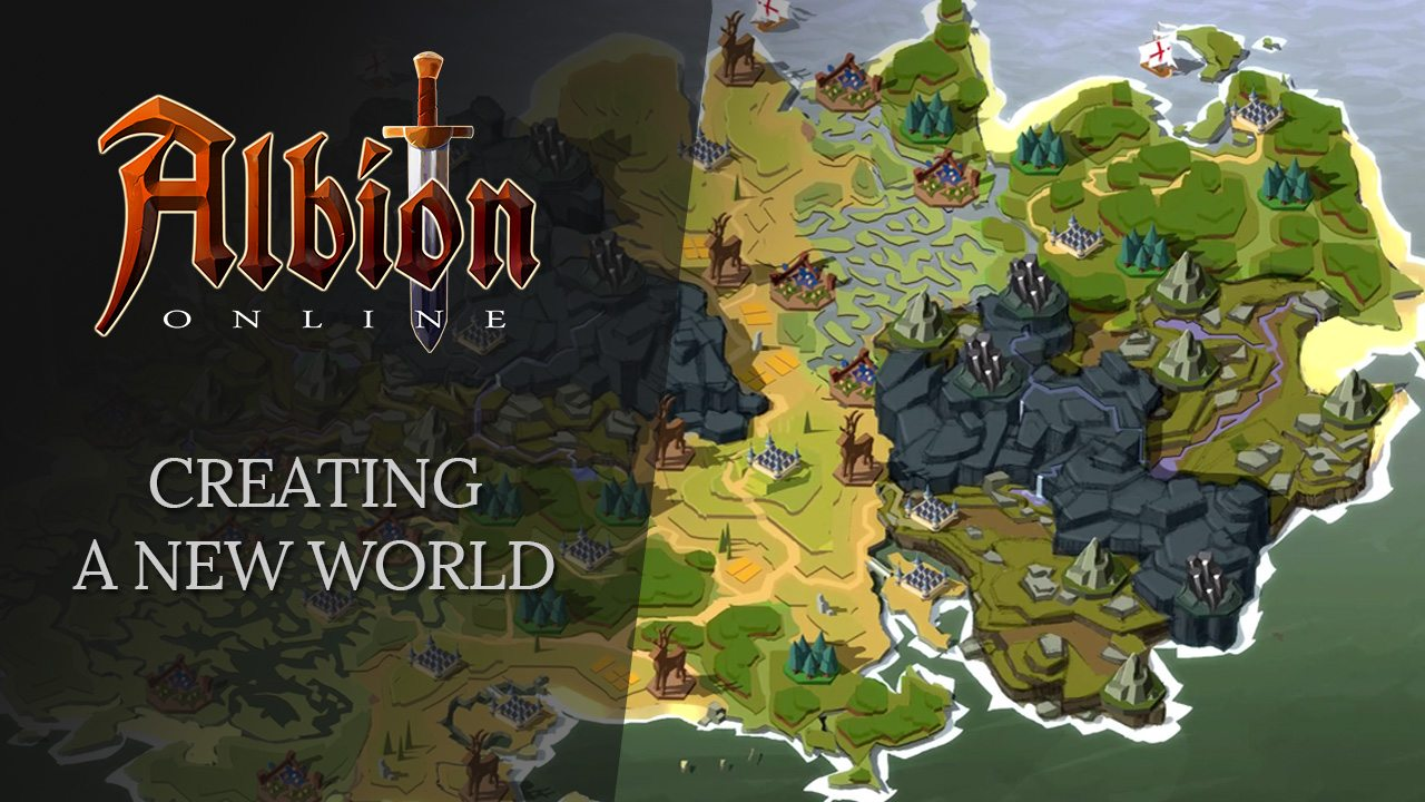Albion Online Releases Creating A New World Video