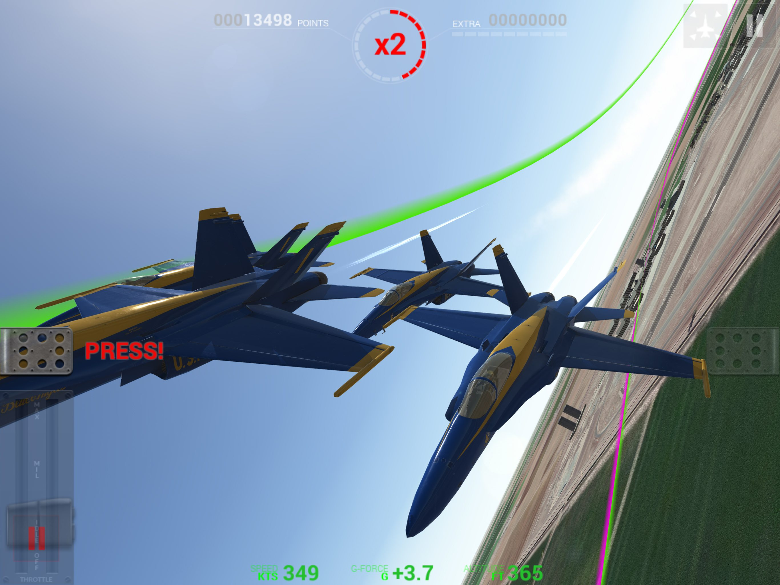 Blue Angels - Aerobatic Sim Announced for PC, Xbox and Mobile