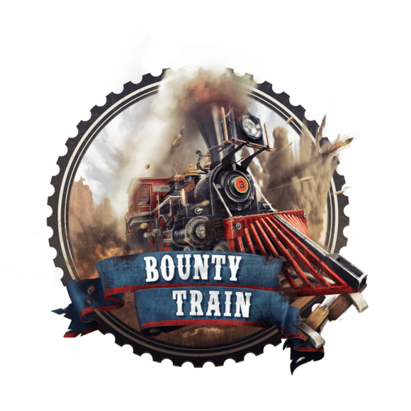 Bounty Train Logo Gaming Cypher