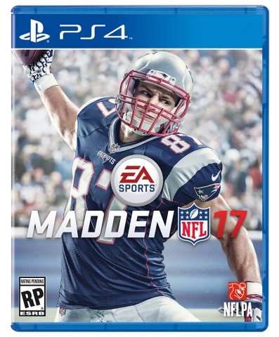 Rob Gronkowski Named as Official EA SPORTS Madden NFL 17 Cover Athlete