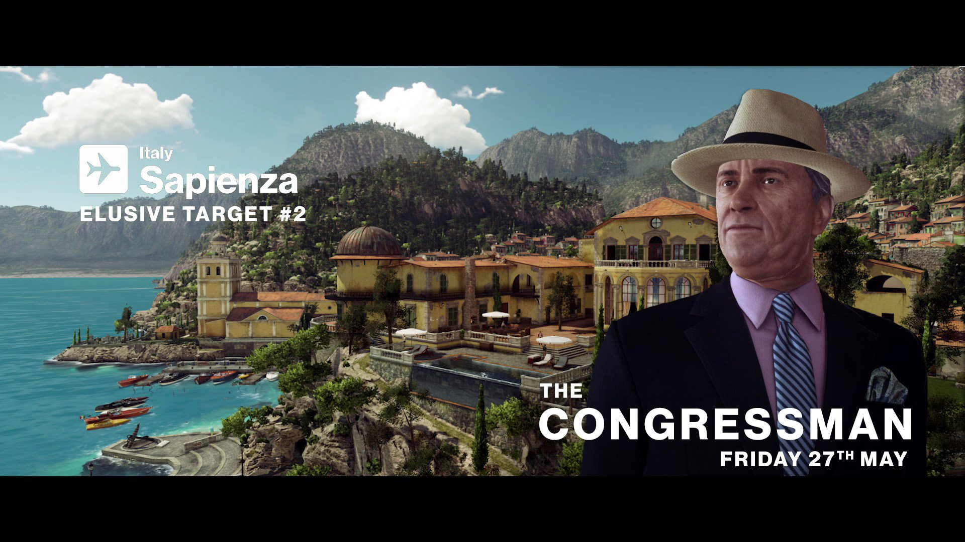 HITMAN 2nd Elusive Target Now Live